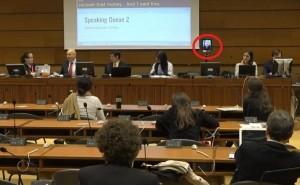 唐鳳奇襲聯合國會議暢談ICT 中方崩潰跳針反台獨