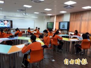 竹光國中會呼吸的專科教室 繽紛啟用