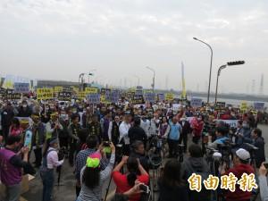 和美2千多人抗議中火促降載 否則3個月後再來