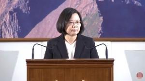 蔡英文:兩岸關係維持現狀 不會暴走或僵住