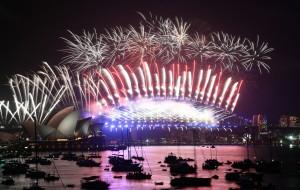 2018報到!紐澳率先跨年 天空塔、歌劇院煙火燦爛
