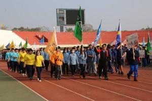 台南市中運開幕 近3千選手爭全中運代表權
