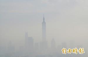 境內污染物散不掉 中南部空品將達紅害等級