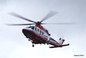 日埼玉縣首開先例 直升機山難救助每5分鐘收費5千