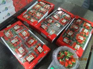 紐、韓、日進口草莓 驗出農藥超標