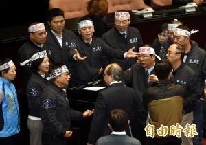 爭論提案順序 民進黨禮讓國民黨