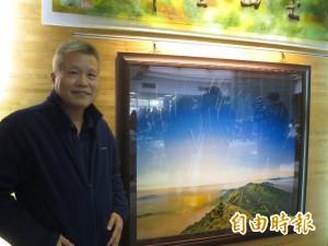 玉管處台灣風景攝影展 星軌玉山吸睛