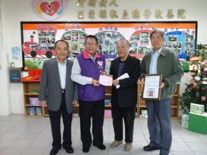 新年百萬「金」喜! 德芳教養院獲創院來單筆最高捐助