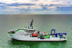 我籌建最大海研船 勵進號今抵台
