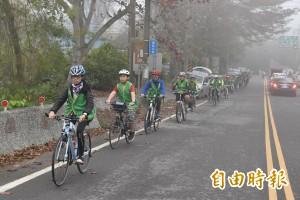 樟湖生態中小學單車壯遊 百人日騎百公里