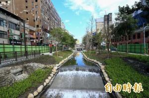 中市綠川觀光新亮點 預計農曆春節前完工