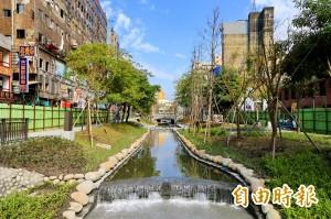 櫻橋重見天日 台中綠川整治完成農曆年前開放