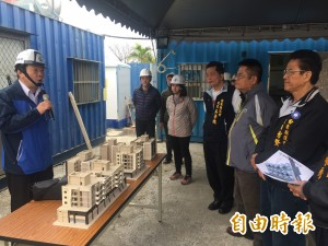 東縣議員考察建設 幸福住宅申請資格擬放寬