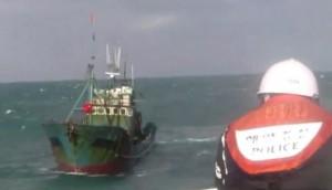 加強打擊中國非法捕魚 南韓黃海巡邏船增至15艘