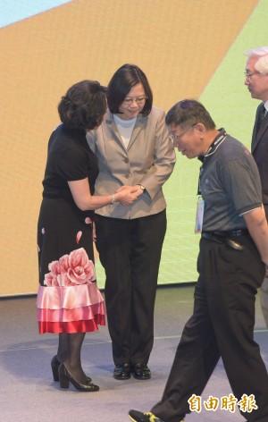 「台灣價值」爭議後 蔡英文、柯文哲明首度同台