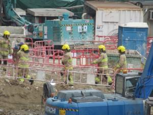 香港工地疑挖出兩枚炸彈 緊急疏散中
