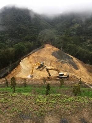挖礦鏟林毀山 民眾PO照喊心痛