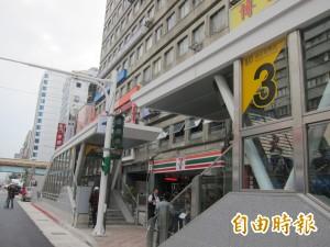 北捷南京復興站 婦人墜下站外馬路送醫