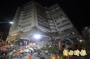 強震後餘震不斷 昨夜至今已超過177起