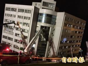 花蓮強震 居台日本人:15年來最大地震
