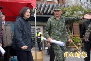 日大力聲援震災 蔡英文推特謝日本稱「是真正的朋友」