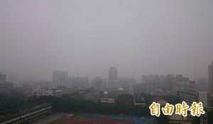 台中空汙讓賴清德專機無法降落?市府澄清:是霧啦