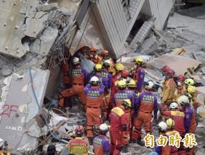 花蓮震災香港夫婦遺體尋獲 罹難人數增至12人
