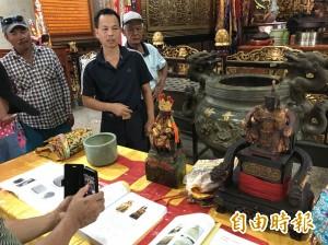 恆春觀林寺神像   文資審議通過指定為古物