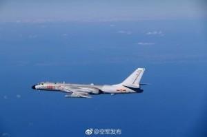 又來!中國12架軍機今穿越巴士海峽