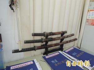 和風時代劇退燒?日本武士刀成回收物