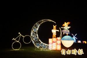 賞燈很浪漫 大阿里山區燈會燦爛登場