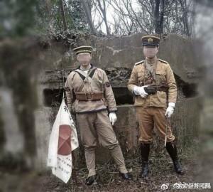 南京抗戰遺址前穿日軍服拍照 2強國男被拘留15天