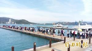 花蓮地震觀光降溫 日月潭春節遊客大增6成
