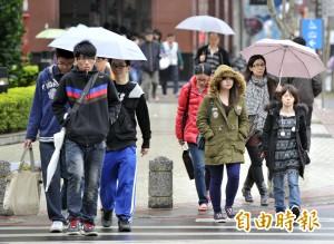 今鋒面通過水氣增 吳德榮:西北部有較大雨勢