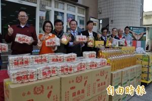 楊梅農會號召善心人獻愛心   買農產品贈弱勢學生