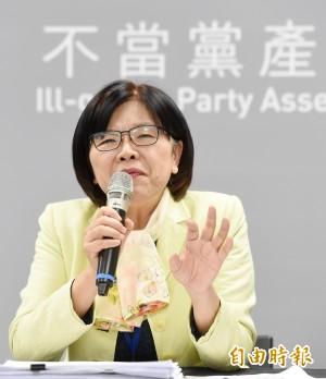 中投、欣裕台為國民黨附隨組織案 黨產會抗告成功!