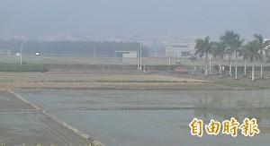 受「高壓迴流」影響  台南AQI飆上173