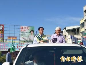 黃偉哲與李進勇談雙城合作 笑稱「雲林種很多西瓜」