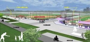 頭前溪河濱公園新設棒球場 新竹左岸運動休憩功能再提升