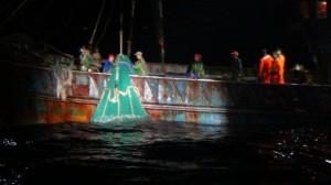 摸黑越界到彭佳嶼捕魚 中國籍漁船栽在海巡隊手裡