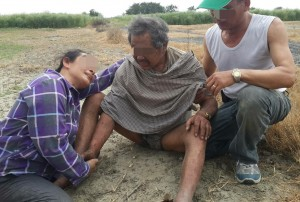 找到了!77歲老翁失蹤48小時 陸海空協尋平安尋獲