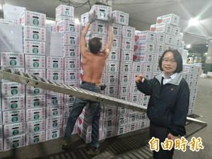 獨家》北農總經理吳音寧神隱多日 晚間突然現身果菜市場