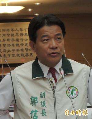 台南市副議長郭信良被控職務詐財案 無罪定讞