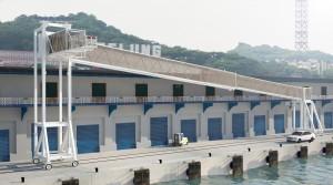 方便郵輪旅客 基港公司增置1具旅客橋