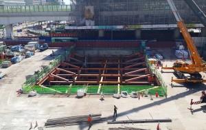 中市捷運綠線共構場站全數完成地下開挖 市府展開招商