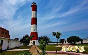 中部海域首座燈塔 高美燈塔登錄歷史建築
