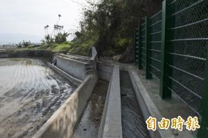 外埔風坑路月眉台地邊坡 汛期前整治完成