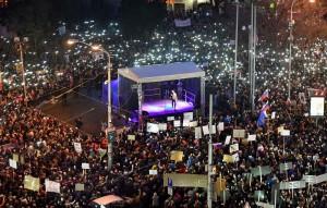 查貪記者死亡 斯洛伐克現「絲絨革命後最大抗議」