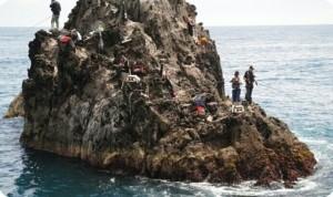 基隆嶼開放磯釣後首例 釣客疑落海頭撞岩石不治