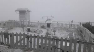 玉山下雪了! 合歡山今夜到明晨也有機會